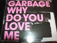 Garbage Why Do you Love Me Rare Australian 5 Track Enhanced CD Single - Like New