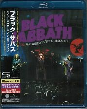 Sealed! BLACK SABBATH Live Gathered In Their Masses BLU-RAY+JAPAN-ONLY SHM-CD
