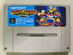 COSMO GANG THE VIDEO [ Nintendo Super Famicom SFC ] Japan Import Cartridge Only