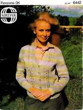 Knitting in Sirdar cardigan 6442 knitting pattern