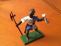 W Britain DieCast Metal Medieval Knight.....in excellent condition
