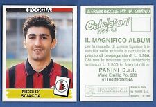 FIGURINA CALCIATORI PANINI 1994/95 - NUOVA/NEW N.118 SCIACCA - FOGGIA
