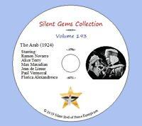 "DVD ""The Arab"" (1924) Rex Ingram, Ramon Novarro,Alice Terry,Classic Silent Drama"