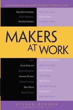 Makers at Work - Steven Osborn - 9781430259923 PORTOFREI