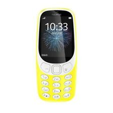 Nokia 3310 2017 Yellow (Unlocked) Cellular Phone (2G Dual SIM) Mobile Phone