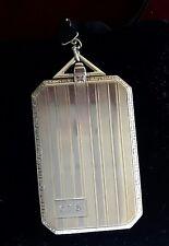 TIFFANY & CO VINTAGE 14K GOLD FOLDING PICTURES FRAME LOCKET PENDANT.
