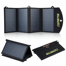 25W Portable Folding Solar Panel Battery Charger For Military Outdoor Sports
