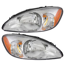 NEWMAR KOUNTRY STAR 2005 2006 2007 2008 PAIR HEADLIGHTS HEAD LIGHTS LAMPS RV