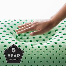 Malouf Shoulder Peppermint Memory Foam Pillow Queen Size Shoulder Cut