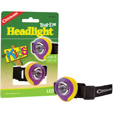 Coghlan's Bug-Eye Headlight for Kids LED Compact Headlamp with Elastic Headstrap
