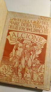 D'Annunzio - Libro Terzo Alcione - Fratelli Treves 1907