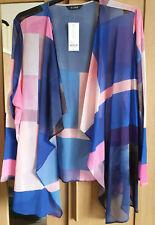 Evans Boutique Multi Colour Kimono Cover up Jacket Top - BNWT - Plus Size 26/28