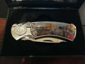 LAS VEGAS Stainless Steel Knife With Case