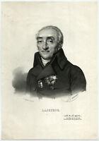 Antique Print-COMTE DE LACEPEDE-FRENCH-NATURALIST-Delpech-Maurin-c. 1830