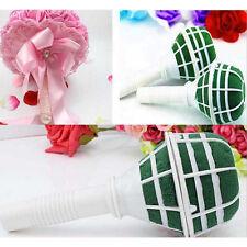 Foam Bouquet Holder Handle Bridal Floral Wedding Flower DIY Decoration d