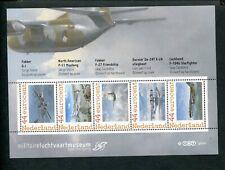 Netherlands, AVIATION-AIRPLANES, sheet Militaire Luchtvaartmuseum ; MNH