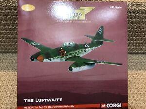 Corgi 1:72 Messerschmitt Me-262A-1a, Red 13, Heinz Bar, Lechfeld 1945, AA35703
