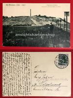 AK ALT DRESDEN 1907 Napoleon Schanze oberhalb d. Waldschlösschen Brauerei( 67654