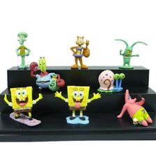 Spongebob All Characters Fish Tank Kids Decoration Squidward Aquarium Ornament