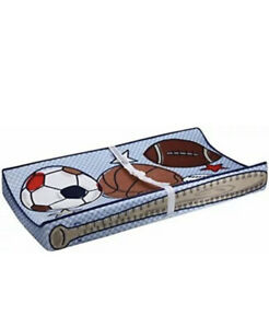 Baby's Journey Measure Me Changing Pad Cover - Sports