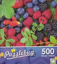 NEW Puzzlebug 500 Piece Puzzle ~ Luscious Summer Berries ~ FREE SHIPPING