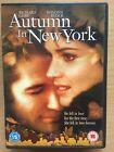 RICHARD GERE WINONA RYDER AUTUMN IN NEW YORK ~ ROMÁNTICA Drama / Weepie GB DVD