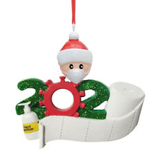Christmas 2020 TOILET PAPER ROLL Tree Ornament New Decoration Special Kits