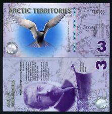 Arctic Territories, $3, 2011, Polymer, UNC Tern
