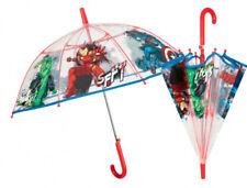 PERLETTI Transparent Kuppel-Schirm Stockschirm Regenschirm, ©MARVEL AVENGERS