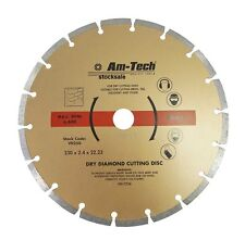 "9"" 230MM PROFESSIONAL UNIVERSAL DIAMOND CUTTING DISC BRICK, TILE, MASONRY STONE"