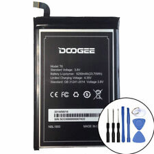 T6 - New Genuine 6250mAh Battery for DOOGEE T6 MTK6735 & Free Tools