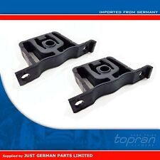 2x VW Audi 1.9 / 2.0 TDI - Exhaust Pipe Rubber Mount Bracket Hanger - 1J0253144F