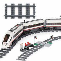 18pcs Train droite piste Railroad Rail Sans Alimentation Accessoires pour LEGO