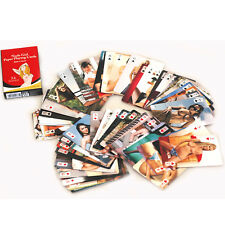 ADULT NUDE PACK DECK OF PLAYING CARDS 54 MODELS COLOR DIRTY red