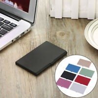 1Pc Professional business card holder for men&women aluminum card cas IY