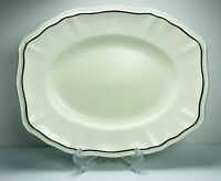 "Kensington Staffords Sommerset  Platter Oval Serving ENGLAND Ironstone  12"" L"