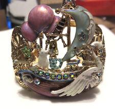 KIRKS FOLLY SHIP OF DREAMS CUFF BRACELET NWT AVG