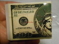 Vintage 100 Dollar Bill Butane Cigarette Lighter