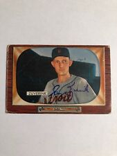 1955 Bowman George Zuverink #92 Auto Signed Autograph Tigers