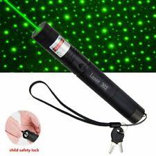 Green Light 303 Laserpointer 1MW 532NM Laser Taschenlampe mit Akku & Ladegerät