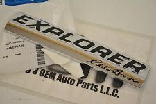 2006-2010 Ford Explorer Eddie Bauer Rear Trunk Lid Liftgate Emblem new OEM