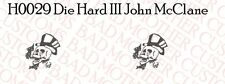 1/6 Custom Tattoo Decal 12 inch figures: Die Hard 3 John McClane Bruce Willis