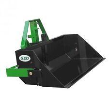 Geo PRM 120 100-160 cm Hecklader Erdschaufel Heckcontainer kippbar Schaufel BBS
