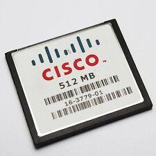 512MB CISCO CompactFlash CF Memory Card Industrial Grade MEM3800-512CF Genuine