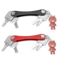 Smart Holder Key Organizer Holder Flexible Key Clip Chains Case Keychain Tool
