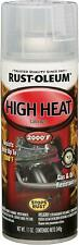 Automotive 11 Oz 2000 Degrees High Heat Spray Gas and Oil Resistant Gloss Clear