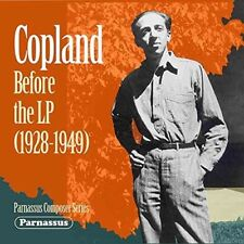 Aaron Copland - Copland Before The Lp (1928-1949) [New CD]