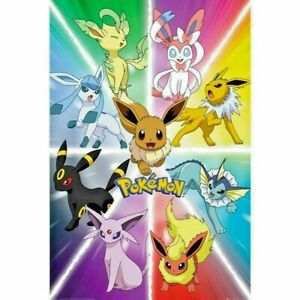 Pokemon Maxi Poster - 271 Evolution Poster *Official* 61 x 91.5cm Rolled