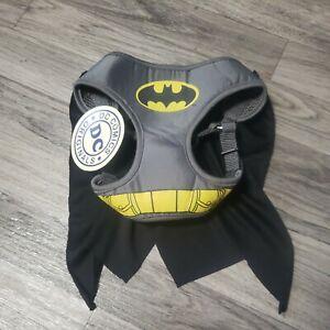 Cute S DC Comics Batman Dog Harness Costume