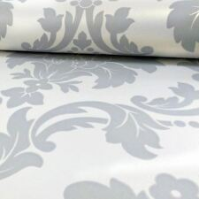ROMEO DAMASK WALLPAPER - GREY - ARTHOUSE 673503 NEW SILVER